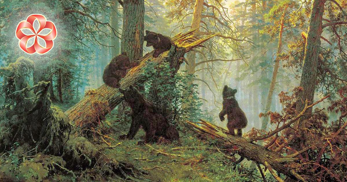 Медвежья порция советов по общению с природой в День России от Russian Flora.