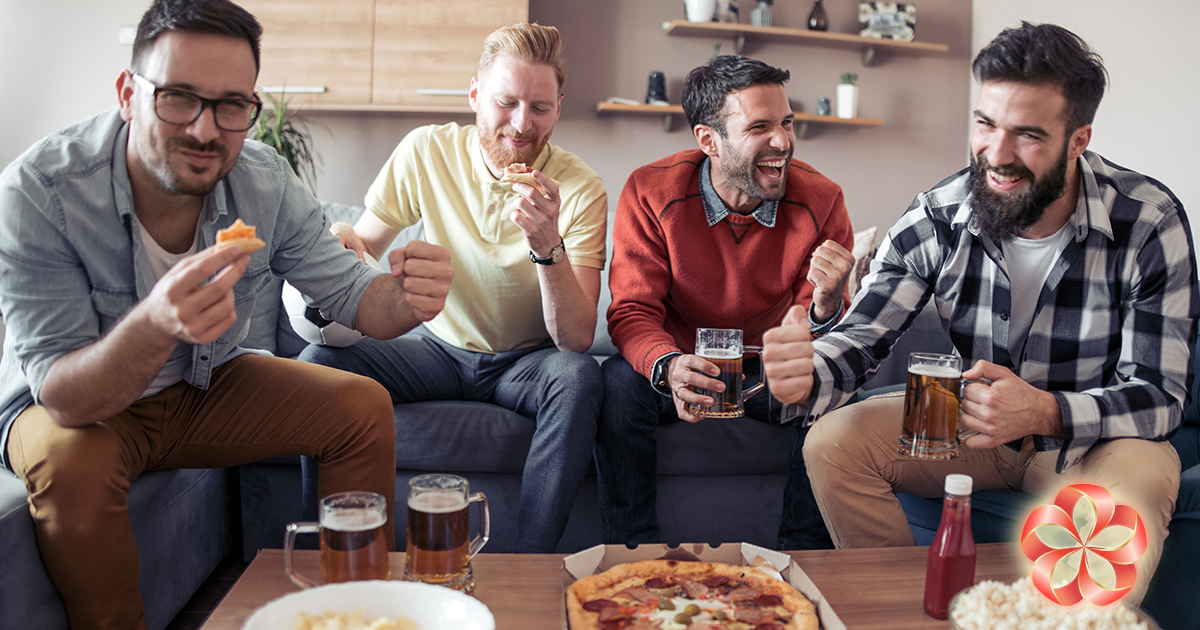Мировые мужские праздники: парни гуляют.